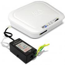 Interface Rural JFA Smart Cell Plus Telefone Celular Fixo PABX Modulo GSM Com Protetor de Linha -