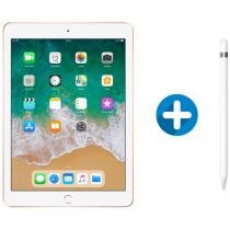 "iPad 6 Apple 128GB Dourado Tela 9.7"" Retina - Proc. Chip A10 Câm. 8MP + Apple Pencil"