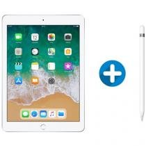 "iPad 6 Apple 128GB Prata Tela 9.7"" Retina - Proc. Chip A10 Câm. 8MP + Apple Pencil"