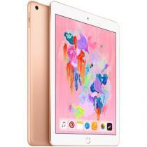 "iPad 6 Apple 32GB Dourado Tela 9.7"" Retina Proc. Chip A10 Câm. 8MP + Frontal iOS 11 Touch ID"