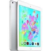"iPad 6 Apple 4G 128GB Prata Tela 9.7"" Retina Proc. Chip A10 Câm. 8MP + Frontal iOS 11"