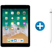 "iPad 6 Apple 4G 32GB Cinza Espacial Tela 9,7"" - Retina Proc. Chip A10 Câm. 8MP + Apple Pencil"