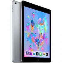 "iPad 6 Apple 4G 32GB Cinza Espacial Tela 9,7"" - Retina Proc. Chip A10 Câm. 8MP + Frontal iOS 11"