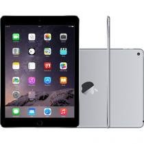 "iPad Air 2 Apple 4G 64GB Cinza Espacial Tela 9,7"" - Retina Proc. M8 Câm. 8MP + Frontal Touch ID"