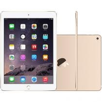 "iPad Air 2 Apple 4G 64GB Dourado Tela 9,7"" Retina - Proc. M8 Câm. 8MP + Frontal iOS 8 Touch ID"