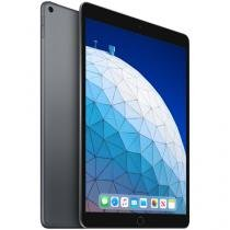 "iPad Air Apple 64GB Cinza Espacial 10,5"" Retina - Proc. Chip A12 Câm. 8MP + Frontal 7MP iOS 12"