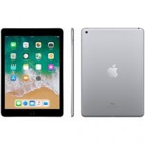 "iPad Apple 128GB Cinza Espacial Tela 9,7"" Retina - Proc. Chip A9 Câm. 8MP + Frontal iOS 10 Touch ID"