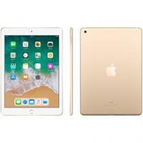 "iPad Apple 32GB Dourado Tela 9,7"" Retina - Proc. Chip A9 Câm. 8MP + Frontal iOS 11 Touch ID"