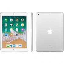 "iPad Apple 32GB Prata Tela 9,7"" Retina - Proc. Chip A9 Câm. 8MP + Frontal iOS 11 Touch ID"