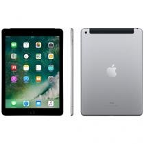 "iPad Apple 4G 128GB Cinza Espacial Tela 9,7"" Retina Proc. Chip A9 Câm. 8MP + Frontal iOS 10"