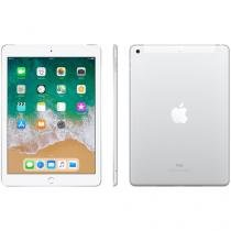 "iPad Apple 4G 128GB Prata Tela 9,7"" Retina - Proc. Chip A9 Câm. 8MP + Frontal iOS 10 Touch ID"