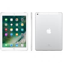 "iPad Apple 4G 32GB Prata Tela 9,7"" Retina Proc. Chip A9 Câm. 8MP + Frontal iOS 10 Touch ID"