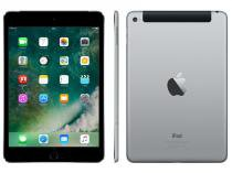 "iPad Mini 4 Apple 4G 64GB Cinza Espacial Tela 7,9"" - Retina Proc. Chip A8 Câm. 8MP + Frontal iOS 10"