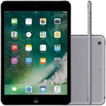 "iPad Mini Apple 32GB Cinza Espacial Tela 7,9"" - Retina Proc. Chip A7 Câm. 5MP + Frontal iOS 10"