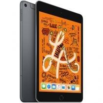 "iPad Mini Apple 4G 256GB Cinza Espacial 7,9"" - Retina Proc. Chip A12 Câm. 8MP + Frontal 7MP"