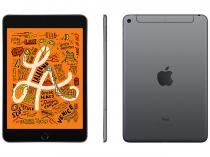 "iPad Mini Apple 4G 64GB Cinza Espacial 7,9"" - Retina Proc. Chip A12 Câm. 8MP + Frontal 7MP"