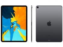 "iPad Pro Apple 1TB Cinza Espacial 11"" Retina - Proc. A12X Câm. 12MP + Frontal 7MP iOS 12"