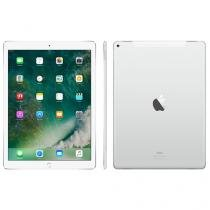 "iPad Pro Apple 4G 128GB Prata Tela 12,9"" Retina - Proc. Chip A9X Câm. 8MP + Frontal iOS 10 Touch ID"