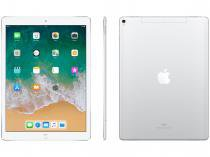 "iPad Pro Apple 4G 256GB Prata Tela 12,9"" - Retina Proc. Chip A10X Câm. 12MP + Frontal iOS 11"