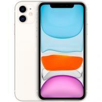 "iPhone 11 Apple 128GB Branco 4G Tela 6,1"" Retina - Câmera Dupla 12MP + Selfie 12MP iOS 13"