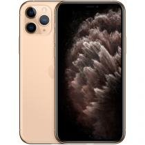 "iPhone 11 Pro Apple 64GB Dourado 4G Tela 5,8"" - Retina Câmera Tripla 12MP + Selfie 12MP iOS 13"