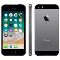 "iPhone 5s Apple 16GB iOS 11 Tela 4"" 4G Wi-Fi - Câm. 8MP Grava em HD GPS Proc. M7 - Cinza Espacial"