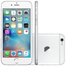 "iPhone 6 Apple 64GB 4G iOS 8 Tela 4.7"" Câm. 8MP - Proc. A8 Touch ID Wi-Fi GPS NFC Prata"