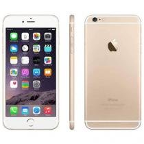 "iPhone 6 Plus Apple 16GB 4G iOS 8 Tela 5.5"" - Câm. 8MP Proc. A8 Touch ID Wi-Fi GPS NFC Dourado"