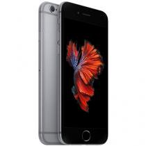 "iPhone 6s Apple 128GB Cinza Espacial 4G Tela 4.7"" - Retina Câm. 12MP + Selfie 5MP iOS 10 Proc. Chip A9"