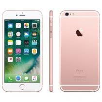 "iPhone 6s Plus Apple 128GB Ouro Rosa 4G Tela 5.5"" - Retina Câm. 12MP + Selfie 5MP iOS 10 Proc. Chip A9"