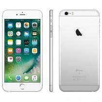 "iPhone 6s Plus Apple 16GB Prata 4G Tela 5.5"" - Retina Câm. 12MP + Selfie 5MP iOS 10 Proc. Chip A9"