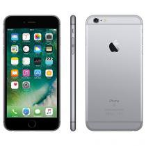 "iPhone 6s Plus Apple 32GB Cinza Espacial 4G - Tela 5.5"" Retina Câmera 5MP iOS 10 Proc. A9 Wi-Fi"