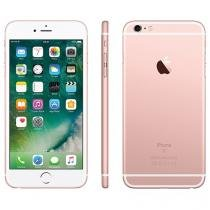 "iPhone 6s Plus Apple 32GB Ouro Rosa 4G - Tela 5.5"" Retina Câmera 5MP iOS 10 Proc. A9 Wi-Fi"