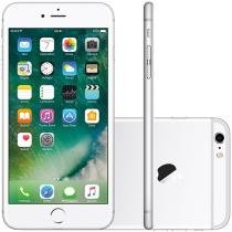 "iPhone 6s Plus Apple 64GB Prata 4G Tela 5.5"" - Retina Câm. 12MP + Selfie 5MP iOS 10 Proc. Chip A9"