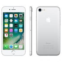 "iPhone 7 Apple 128GB Prateado 4G 4.7"" Retina - Câm. 12MP + Selfie 7MP iOS 10 Proc. Chip A10"