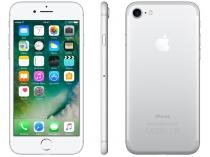 "iPhone 7 Apple 128GB Prateado 4G Tela 4.7"" Retina - Câm. 12MP + Selfie 7MP iOS 10 Proc. Chip A10"