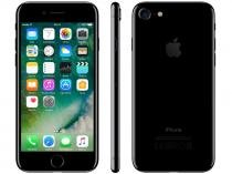 "iPhone 7 Apple 128GB Preto Brilhante 4G Tela 4.7"" - Retina Câm. 12MP + Selfie 7MP iOS 10"