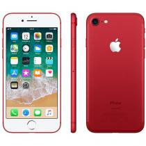 "iPhone 7 Apple 128GB RED Special Edition 4G - Tela 5.5"" Câm. 12MP + Selfie 7MP iOS 11"