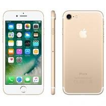 "iPhone 7 Apple 256GB Dourado 4G 4,7"" Retina - Câm. 12MP + Selfie 7MP iOS 10 Proc. Chip A10"