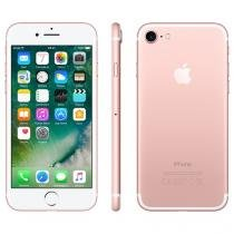 "iPhone 7 Apple 256GB Ouro Rosa 4G Tela 4.7"" Retina - Câm. 12MP + Selfie 7MP iOS 10 Proc. Chip A10"