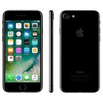 "iPhone 7 Apple 256GB Preto Brilhante 4G 4,7""Retina - Câm. 12MP + Selfie 7MP iOS 10 Proc. Chip A10"