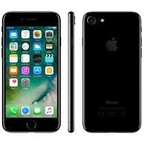 "iPhone 7 Apple 256GB Preto Brilhante 4G Tela 4.7"" - Retina Câm. 12MP + Selfie 7MP iOS 10"