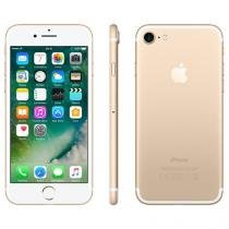 "iPhone 7 Apple 32GB Dourado 4G Tela 4.7"" Retina - Câm. 12MP + Selfie 7MP iOS 10 Proc. Chip A10"