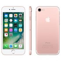 "iPhone 7 Apple 32GB Ouro Rosa 4G Tela 4.7"" Retina - Câm. 12MP + Selfie 7MP iOS 10 Proc. Chip A10"
