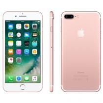 "iPhone 7 Plus Apple 256GB Ouro Rosa 4G 5,5"" - Câm. 12MP + Selfie 7MP iOS 10 Proc. Chip A10"