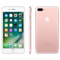 "iPhone 7 Plus Apple 256GB Ouro Rosa 4G Tela 5.5"" - Câm. 12MP + Selfie 7MP iOS 10 Proc. Chip A10"