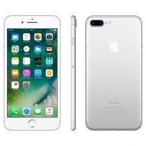 "iPhone 7 Plus Apple 256GB Prateado 4G Tela 5.5"" - Retina Câm. 12MP + Selfie 7MP iOS 10"