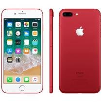 "iPhone 7 Plus Vermelho / Red Special Edition Apple - 128GB 4G 5.5"" Câm. 12MP + Selfie 7MP iOS 10"