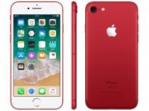 "iPhone 7 Red Special Edition Apple 128GB - 4G 4.7"" Câm. 12MP + Selfie 7MP iOS 10"