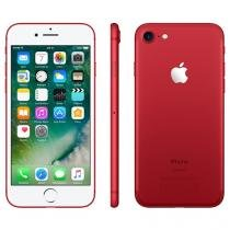 "iPhone 7 Special Edition Apple 256GB Vermelho - 4G 4,7"" Câm. 12MP + Selfie 7MP iOS 10"